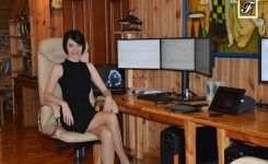 "Today – a publishing day ))) Meet story about me at ""Scrappy Women in Business"""