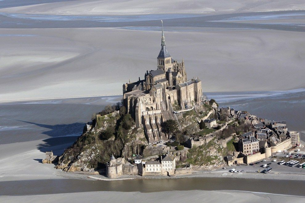 Mont Saint-Michel, Unique Island: There are only 44 residents and 3 million guests