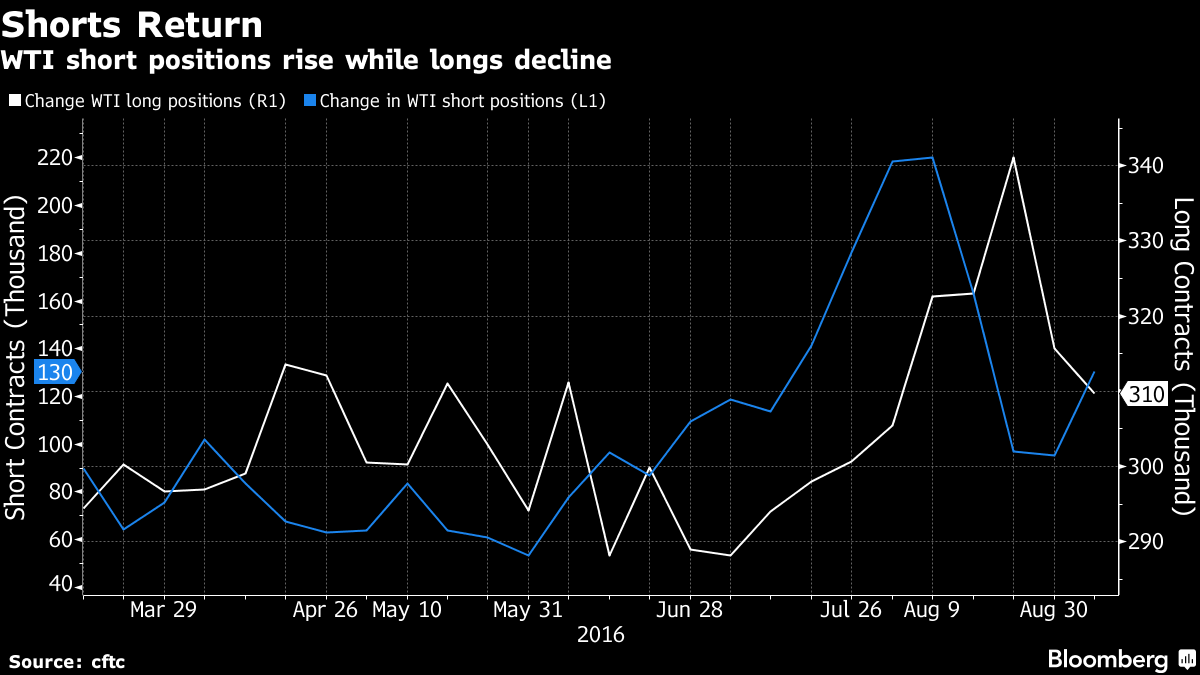 Oil Bears Dominate Market as Doubt Grows Over Output Limits
