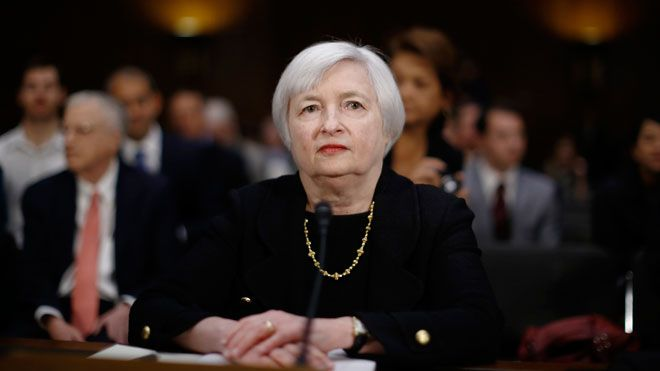 Yellen's Fed Living a Flashback as 2016 Economy Echoes Last Year