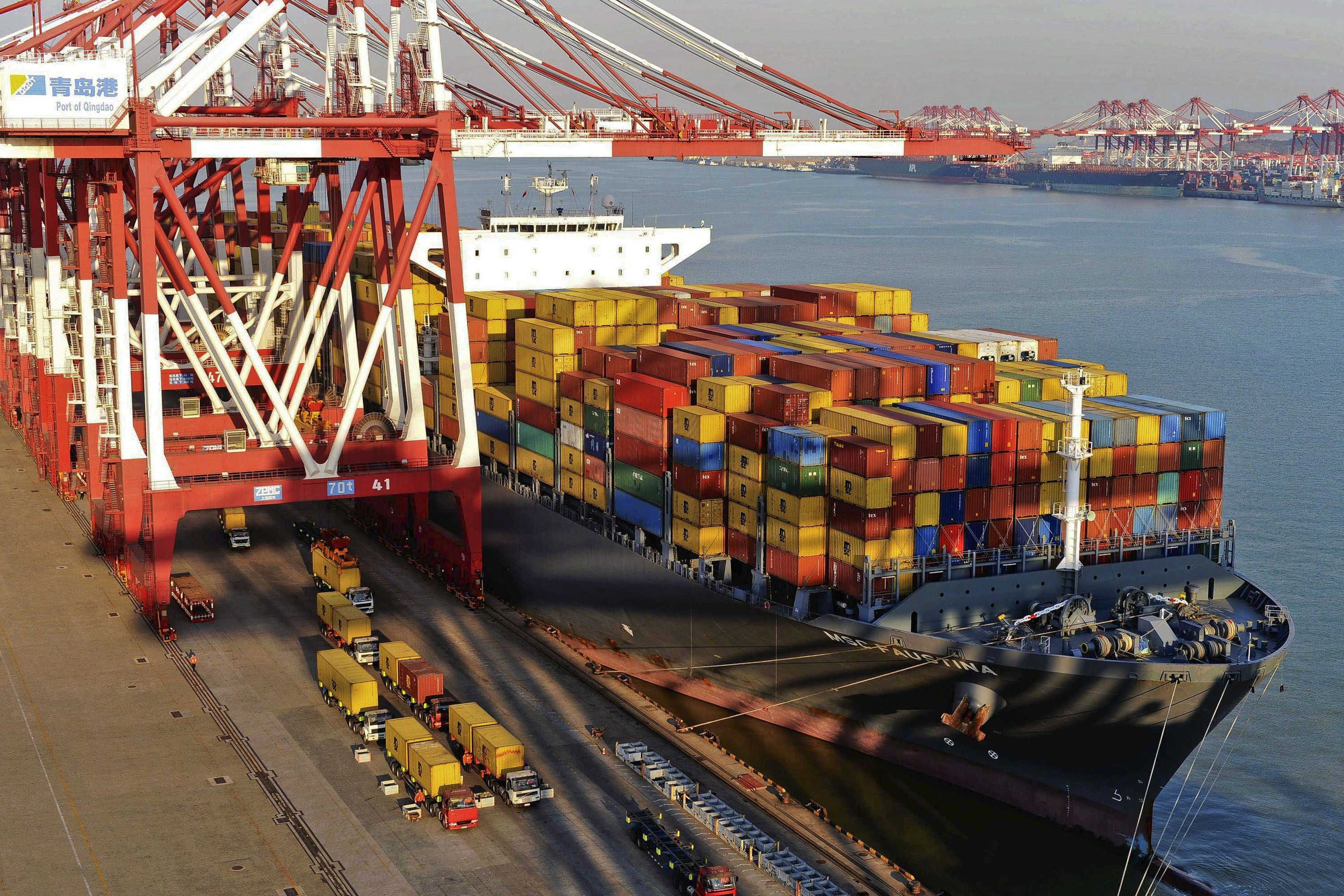 China Oct exports, imports fall more than expected