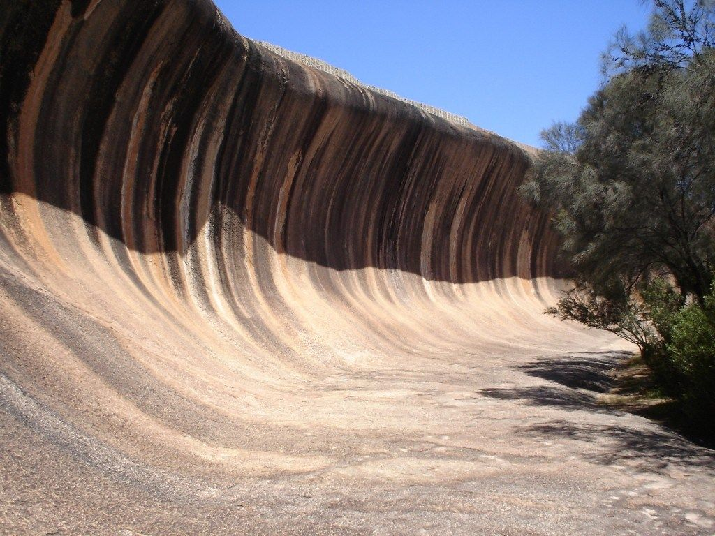 Unusual places – Wave Rock