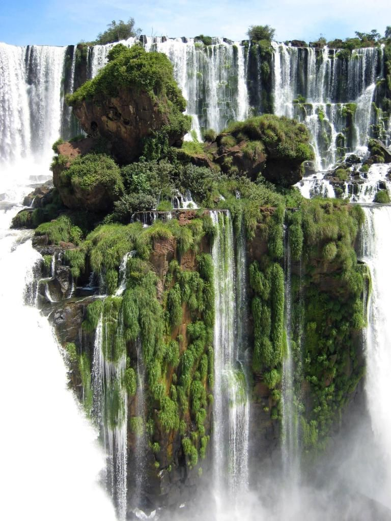 Unusual places – Iguazu Falls