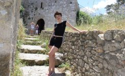 Trader's life. A day at Kantara Castle